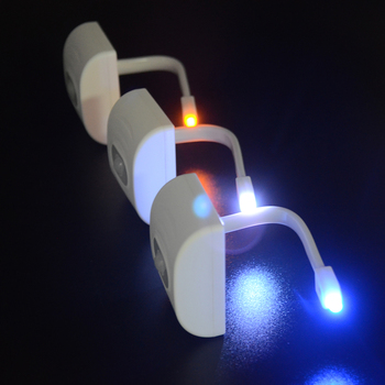 TIZE Low Cost LED Toilet Night Glow Bowl Light With Motion Sensor