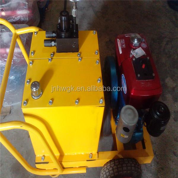 rock splitter machine
