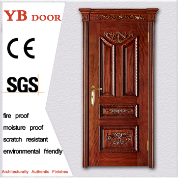 Philippines Elegant Carved Residential New Style Solid Wooden In Single Door Main Gate Design For Sale Ybvd 6013 Buy Bedroom Door Designs Indiadoor