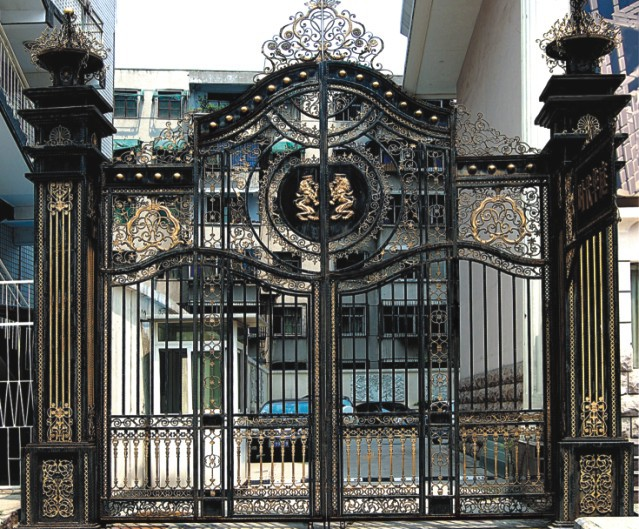 Modern Driveway Wrought Iron Gates Design Models Buy