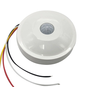 220V wired ceiling mounted pir motion sensor with fire control line