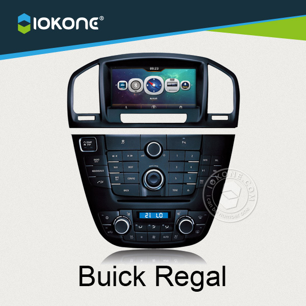 "7"" double din touch screen factory provide Regal car dvd for distributor"