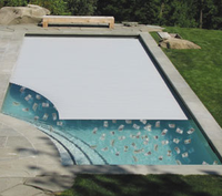 Hot Safety Pool Cover Automatic Polycarbonate Swimming Pool Cover