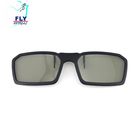 Factory Directly sales clip on 3D glasses High Quality China cheap Polarized plastic 3d Glasses