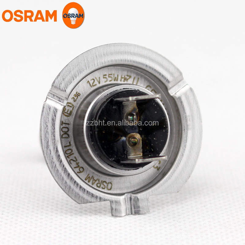 OSRAM PREMIUM Halogen bulb H7 64210L 12V 55W PX26d Longlife type made in Germany