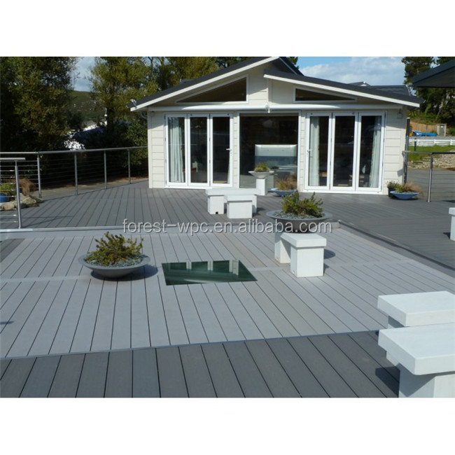 cheap synthetic waterproof grey colorful artificial wood laminate engineered portable outdoor flooring