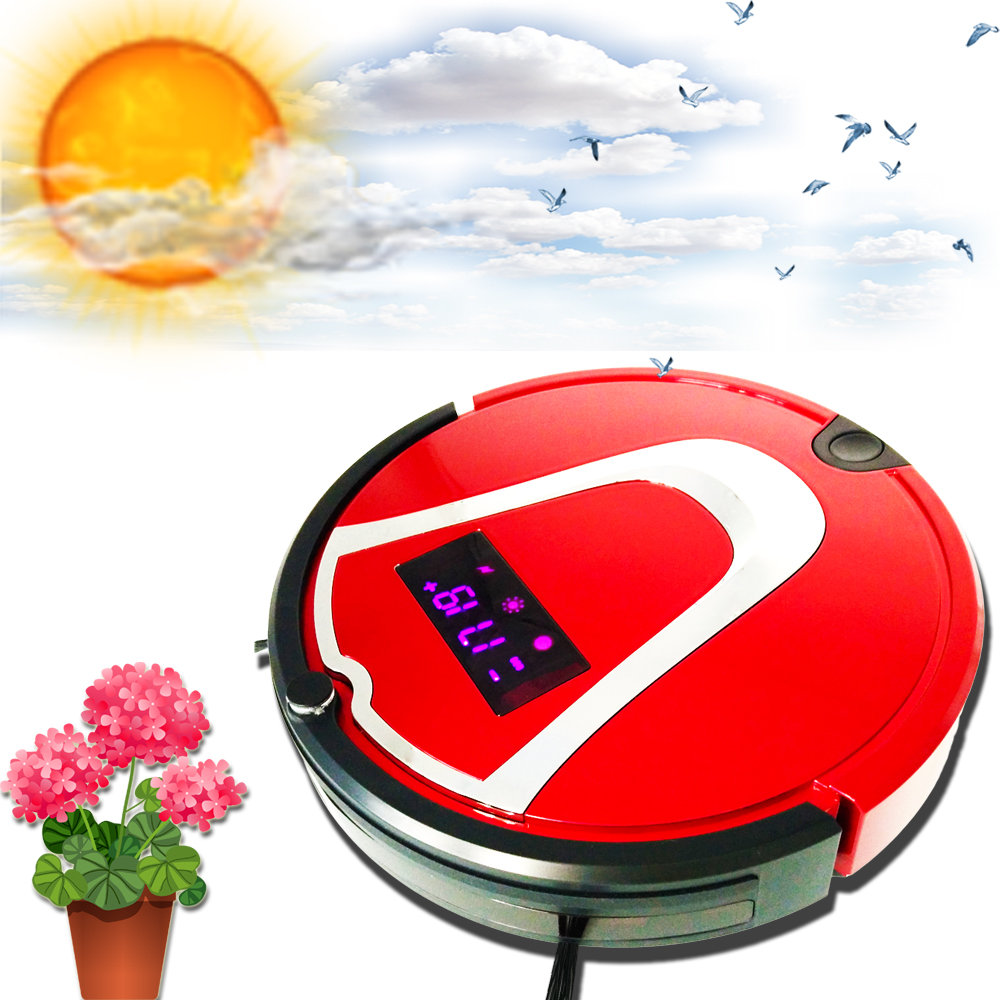 Mini Round Electric Vacuum Cleaner Robot Home Used Street Sweeper Brushes for Sale