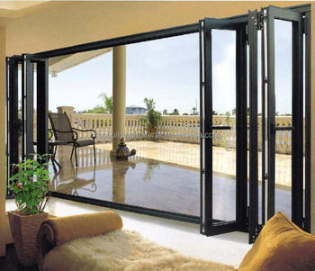 Hot Sale Lowes Glass Interior Folding Door