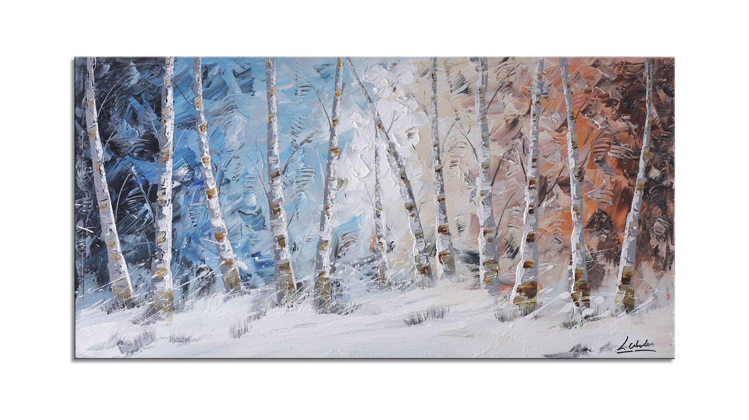794d7393ff73 Cheap Birch Forest Painting, find Birch Forest Painting deals on ...