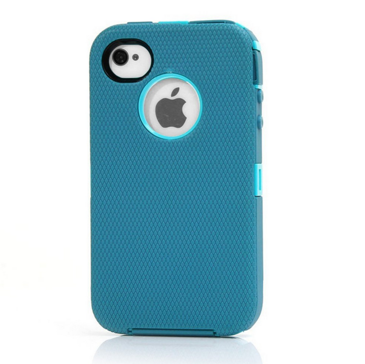 hot selling defender case for i 4s shockproof mobile phone case phone back cover for i4s
