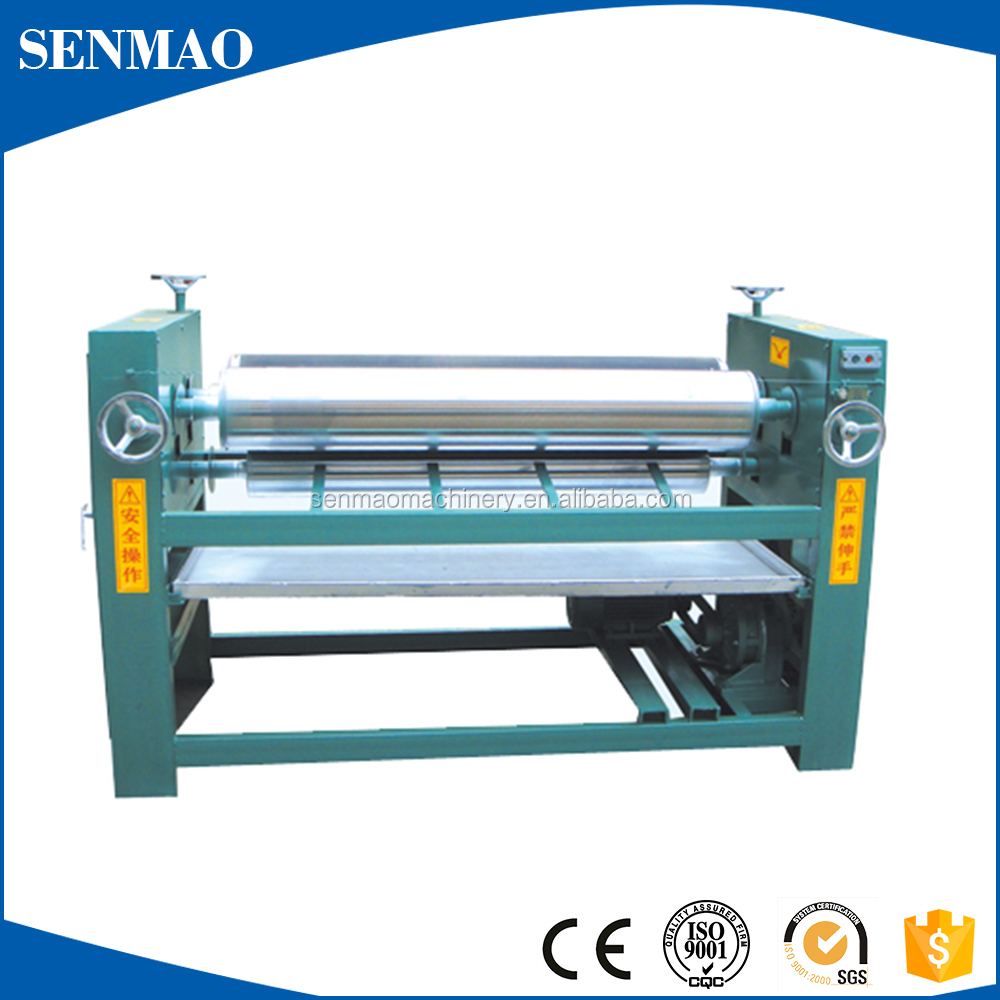 adhesive spreader/glue roller spreader machine/glue machine for plywood Four roller double side high