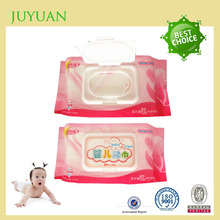 Private label alcohol free vitamin aloe all natural baby cloth wipes