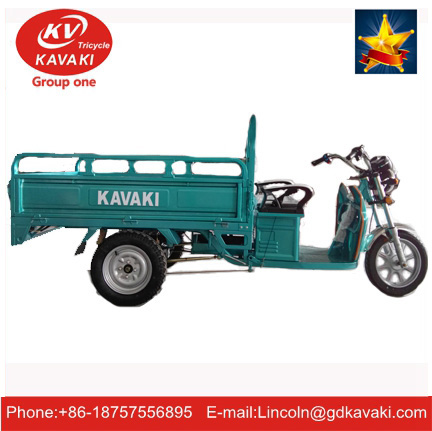 New Model 60V 20Ah 900W Three Wheel Electric Cargo Tricycle For Maldives