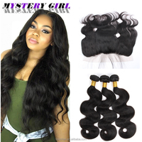 wholesale raw burmese curly hair extension virgin human hair lace frontal free sample