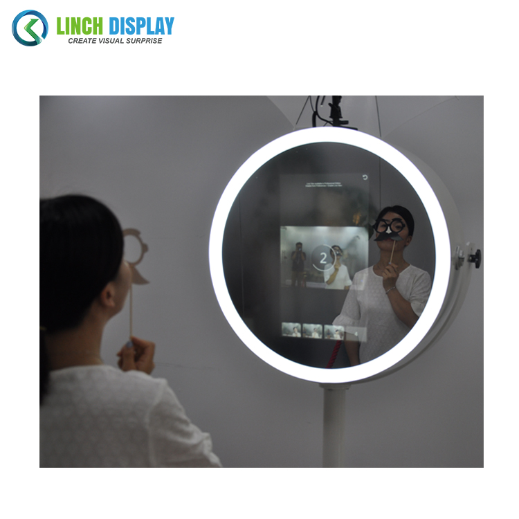 Best Price Capacitive Touch Photo me Booth with Printer