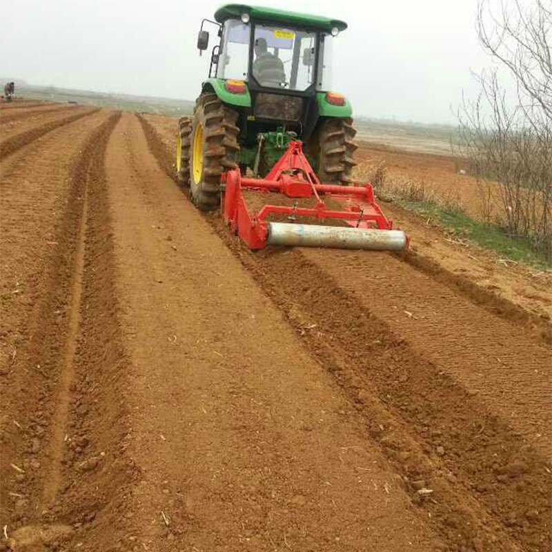 rotary tiller bed former with ridging machine