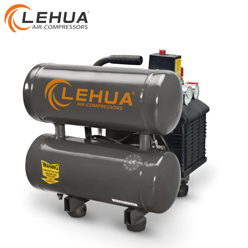 Twee Tanks Draagbare Kleine Band Air Compressor Made In China