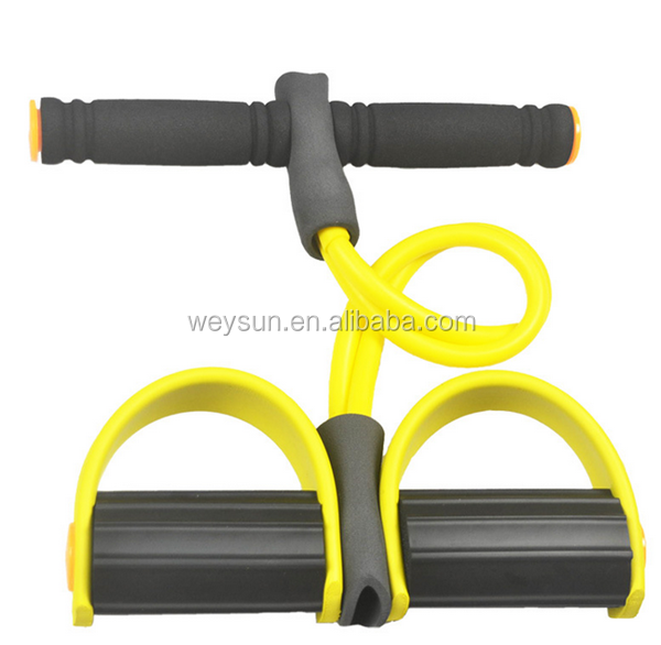 Nieuwe Gezondheid Action Indoor Weerstand Band Exerciser Pull up Body Trimmer Sporter Gut Buster Pull Exerciser crossfit