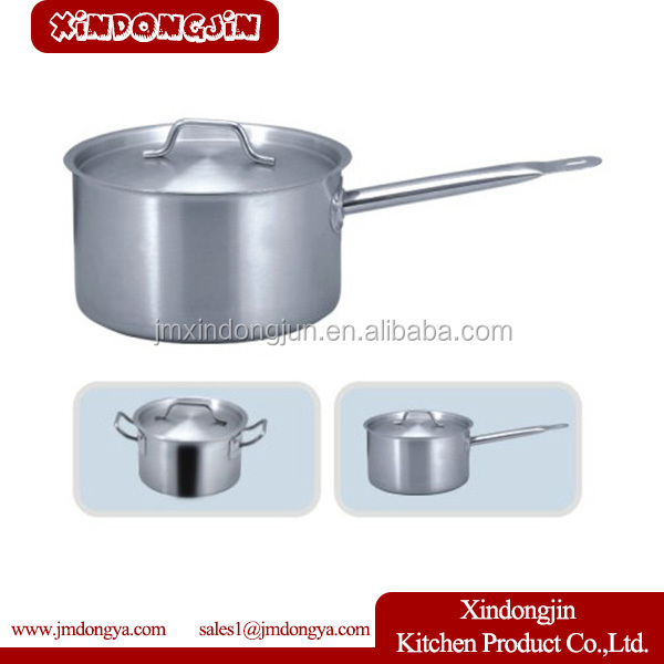 YK03A-140 2015 Hot sale electric soup pot and pans sets /201 stainless steel material stockpots/cooking pots