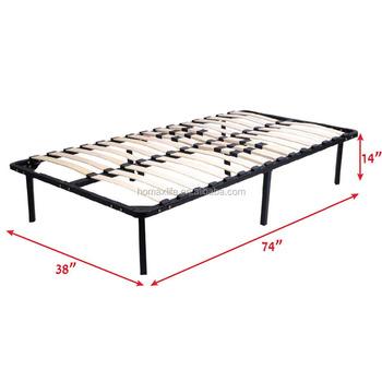 Embly Wooden Slats Bed Frame