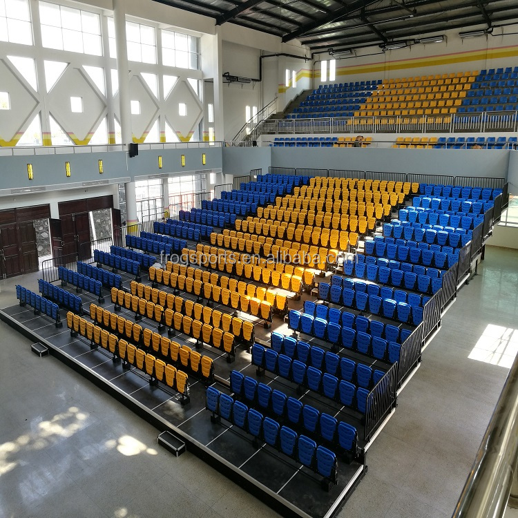 2017 Cina pieghevole A Scomparsa Sistema di posti a sedere Retrattile tribuna tribune