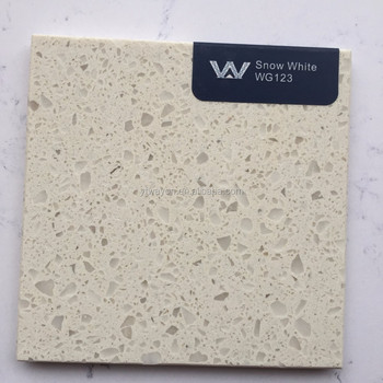 Quartz stone pure white big slabs