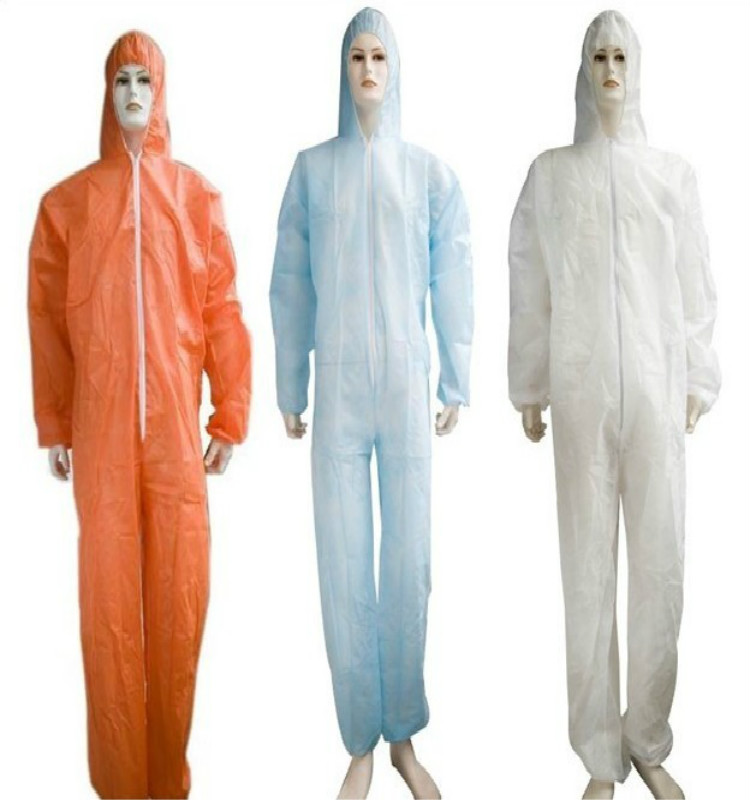 cheap all kinds of color disposable coverall beekeepering ventilated suit / coverall /