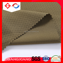 diamond lattice 4 way stretch microfiber polyester spandex for outdoor fabric
