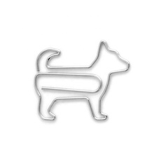 Custom design dier metalen fancy hond <span class=keywords><strong>paperclips</strong></span>