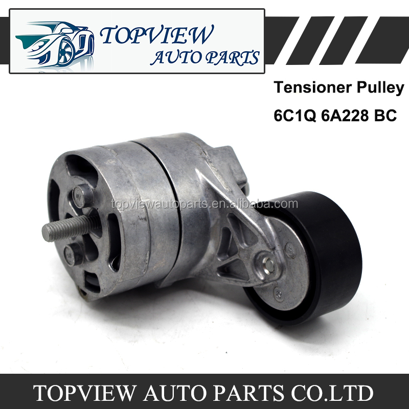 Original Tensioner Pulley 6C1Q 6A228 BC for Ford Transit V348 1445915
