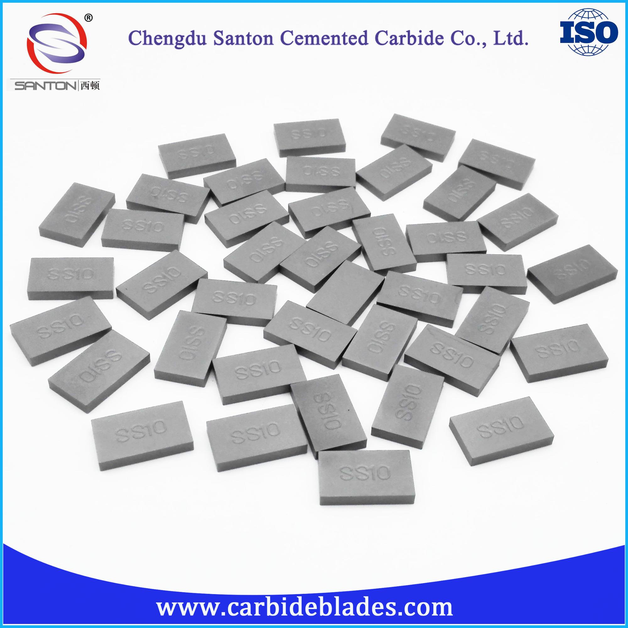 cemented carbide ss10 inserts for stone cutting