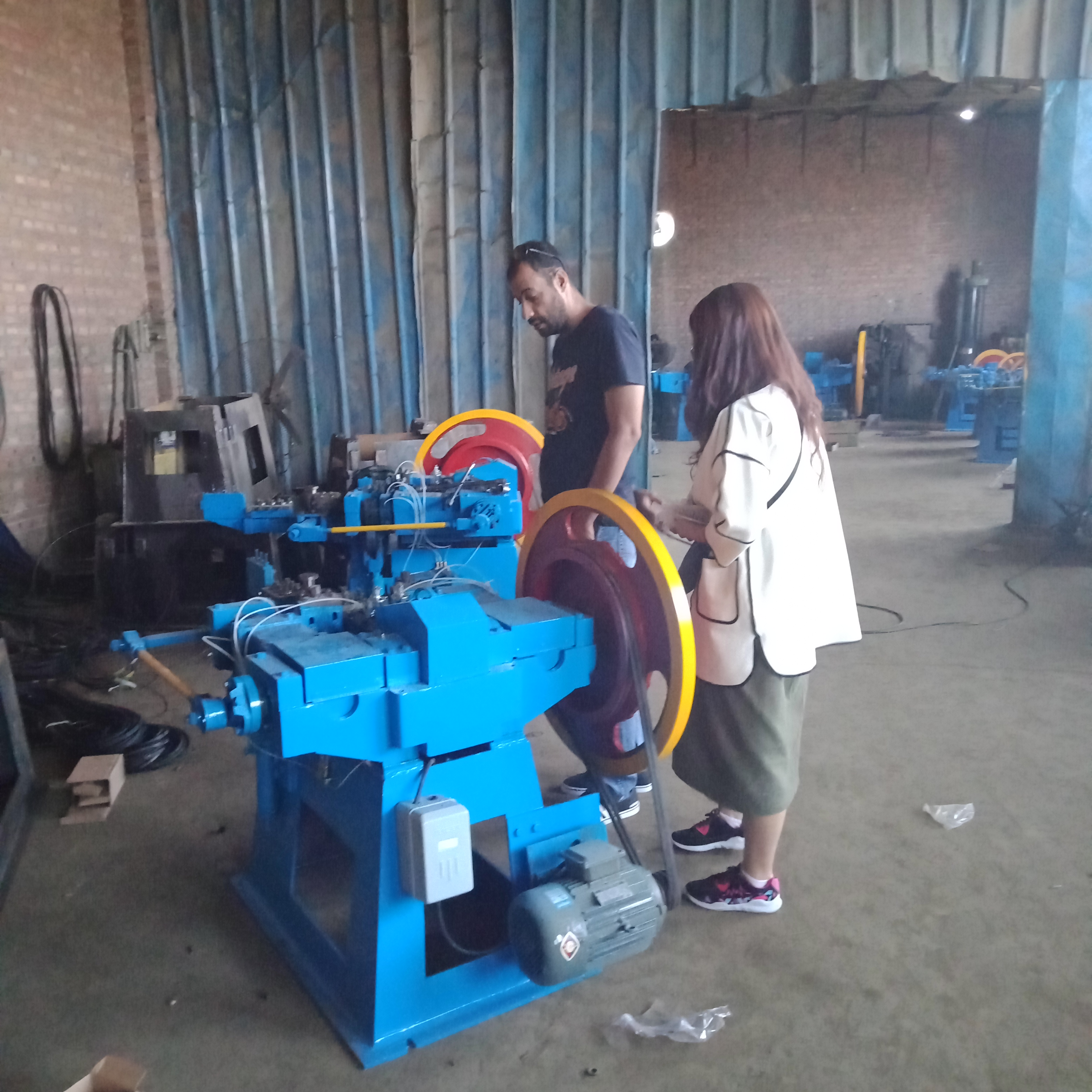 Best price raw material for nail making machine