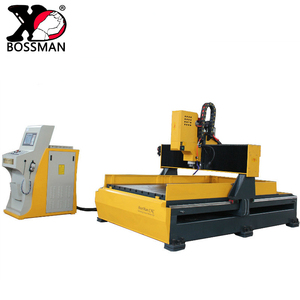 Z-axis moving speed 0-8 m/min cnc metal plate drilling milling machine price
