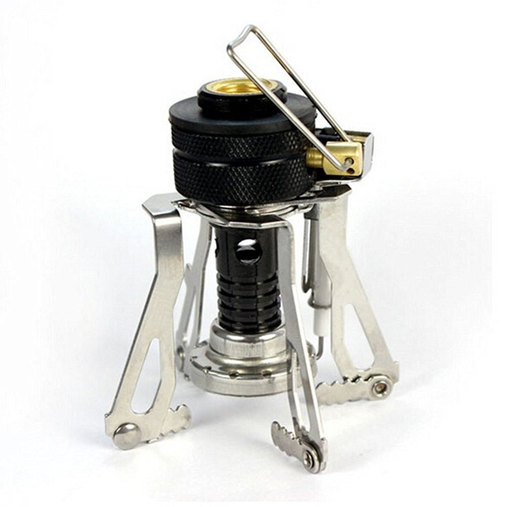Camping Stoves,TwoS Ultralight Portable Outdoor Backpacking Camping Stoves with Piezo Ignition