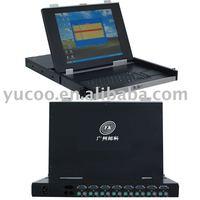P/S2 Port 15'' LCD KVM Switch