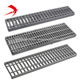 China galvanized steel grating weight / webforge steel grating price / steel open grid flooring