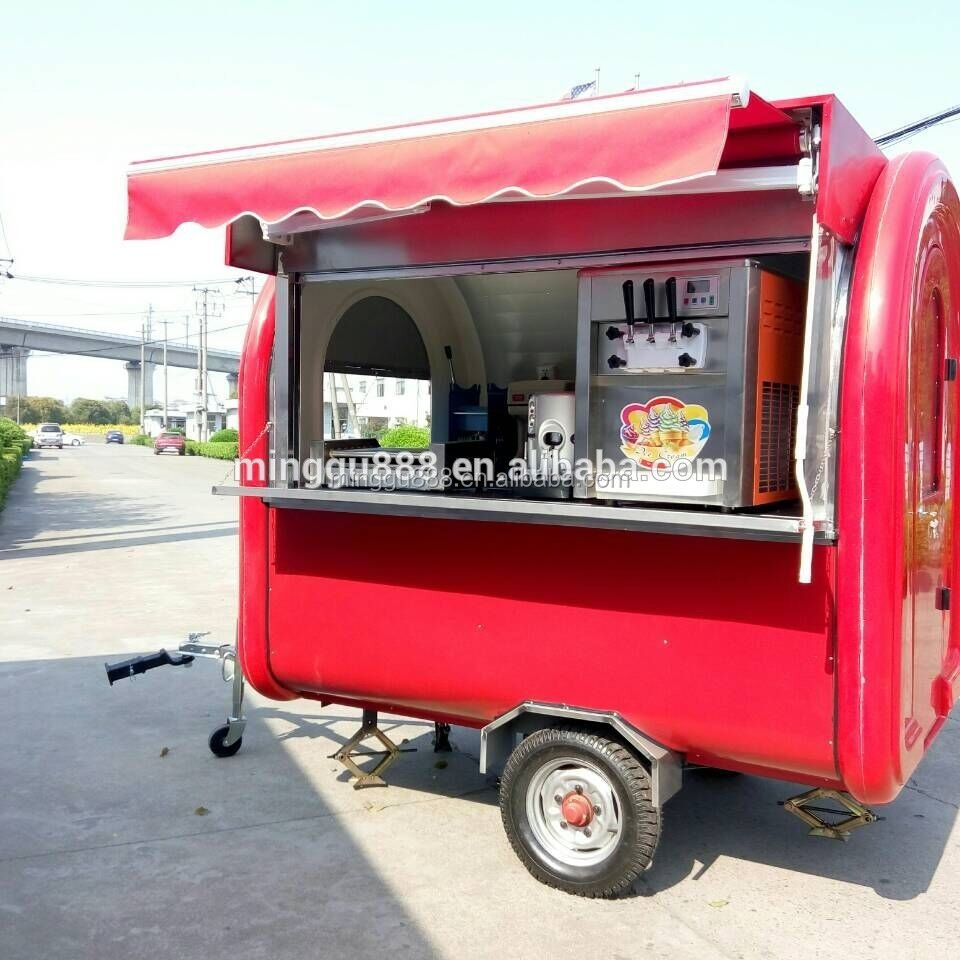 new standard used food carts mobile food kiosk food cart coffee trucks for sale roll ice cream. Black Bedroom Furniture Sets. Home Design Ideas