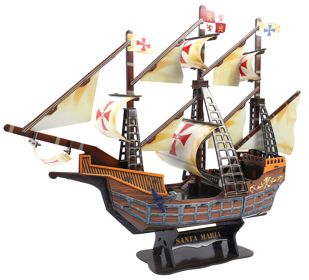 2018 top sale toys for kids, Birthday Gifts for Guests, 3D ship puzzle toys
