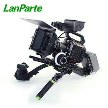 Lanparte dslr camera shoulder rig for Panasonic EVA1