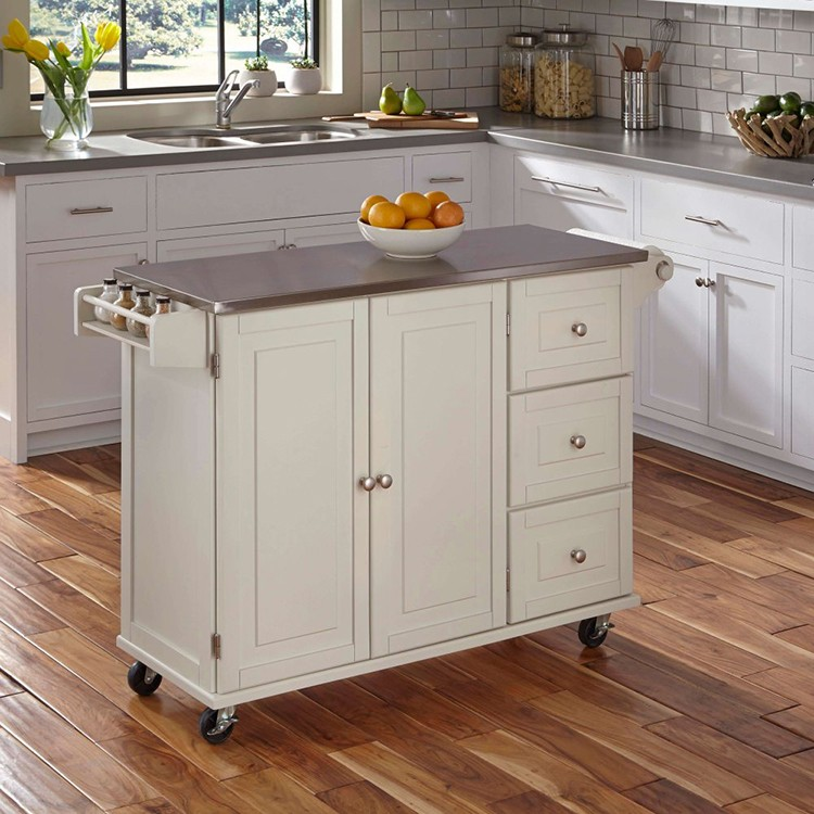 competitive price 2 adjustable shelves small mobile kitchen cabinet trolley. beautiful ideas. Home Design Ideas