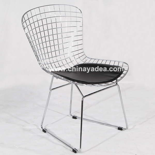 Replica elegant metal wire Harry Bertoia Diamond chair bertoia stool