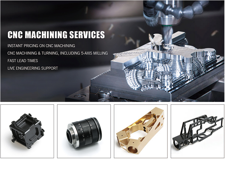 China CNC machining parts Supplier metal lathe machining drone motor parts of oem service vertical CNC machined center