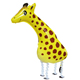 Hot sale Kids Animal Foil Walking Pet Giraffe Balloons