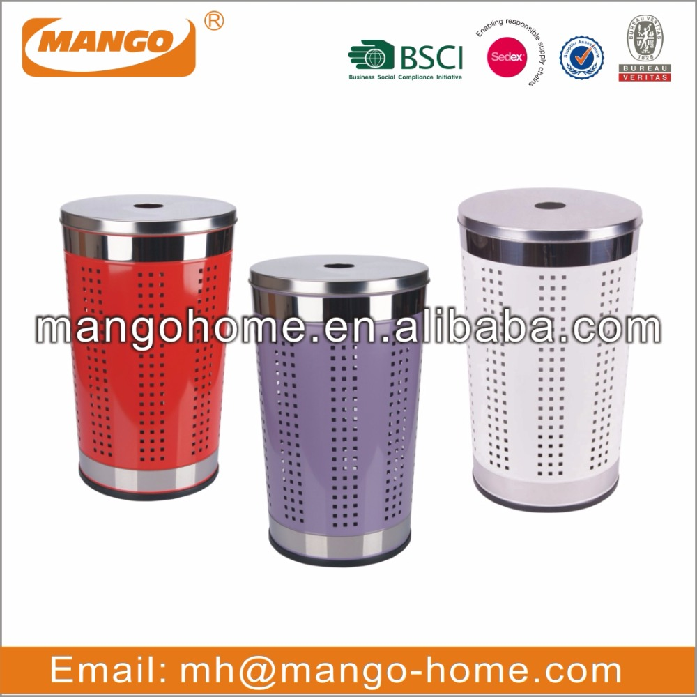 hot sale steel foot pedal waste bin with PP inner bucket