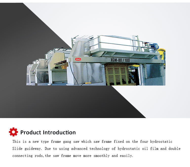 High Quality Automatic Frame Stone Saw Machine