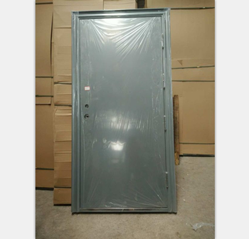 Chinese Supplier Residential Steel Fire Door Modern Apartment Building Main Used Exterior Doors For