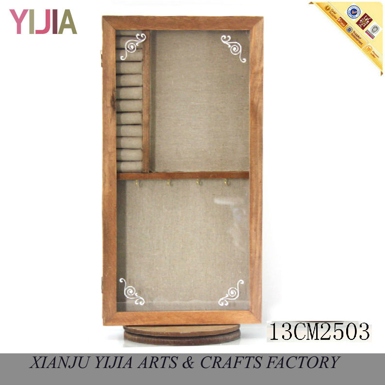 New fashion jewelry store display photo frame stand jewelry box