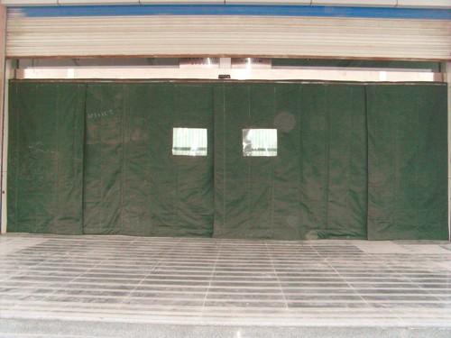 Gordijn Voor Deur : Warm houden garage en supermarkt winter opknoping deur gordijn