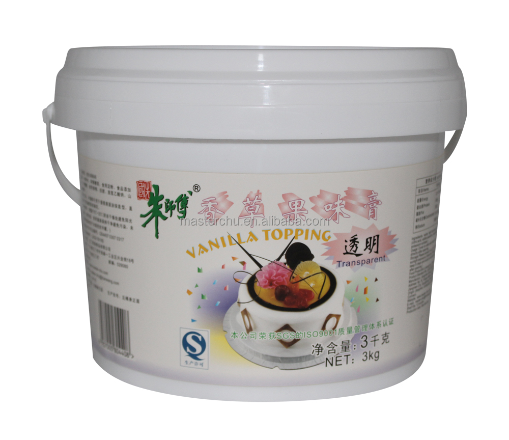 Master-Chu vanilla topping for cake use 3kg