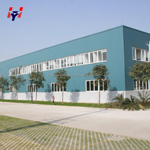 Prefabricated light steel structure factory / metal structure building warehouse for sale